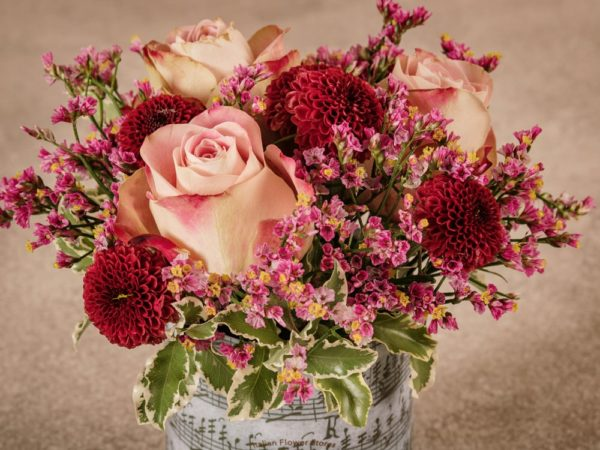 Sushi Autunno, bouquet di fiori freschi stagionali con consegna a domicilio