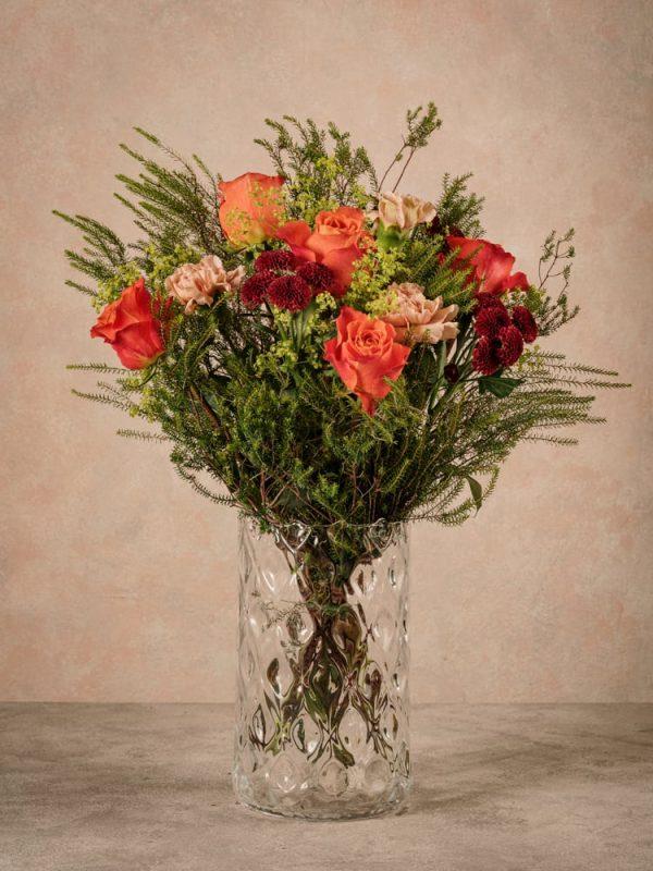 Bouquet Fiori Arancio, bouquet di fiori freschi a domicilio