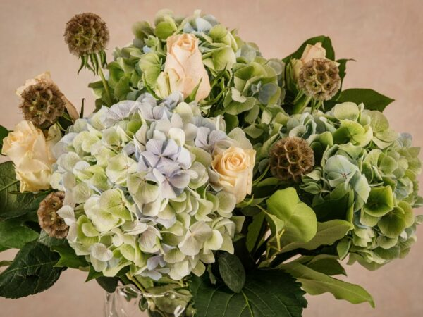 Bouquet Il Piccolo Principe, fiori freschi dalle tinte pastello. Delicato e sofisticato