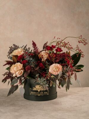 Cappelliera Luxury Creativa Winter, fiori online Frida's
