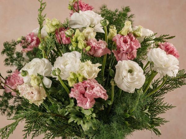 Dettaglio fiori Bouquet Il cacciatore d'aquiloni. Consegna a domicilio in tutta Italia