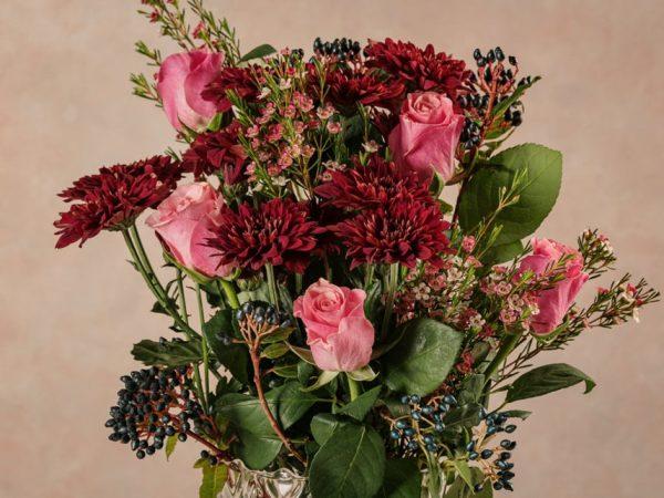 Bouquet Le mille e una notte bouquet di fiori freschi recisi. Consegna a domicilio in tutta italia